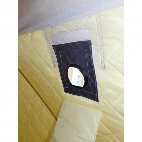 Термостойкая накладка на окно под газоотводную трубу D