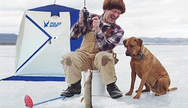 Палатка Polar Bird для зимней рыбалки с собакой