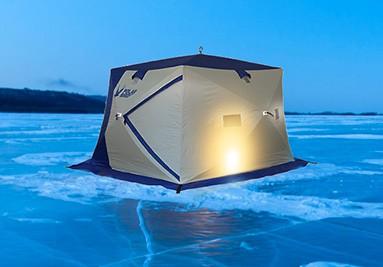 Палатка Polar Bird на льду